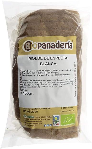 Biopanadería Pan de Molde Ecológico Elaborado con Masa Madre Natural (Espelta Blanca): Amazon.es: Alimentación y bebidas