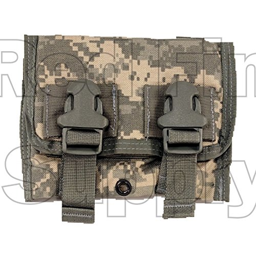 Triple 40mm Grenade Pouch DF-LCS M203 ACU ARMY MOLLE USGI Eagle Industries ()