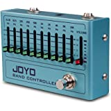 JOYO R-12 Ten Band EQ Pedal for Electric Guitar Bass Pedal EQ Equalizer Pedal for 4-string 5-string Bass 6-string 7…