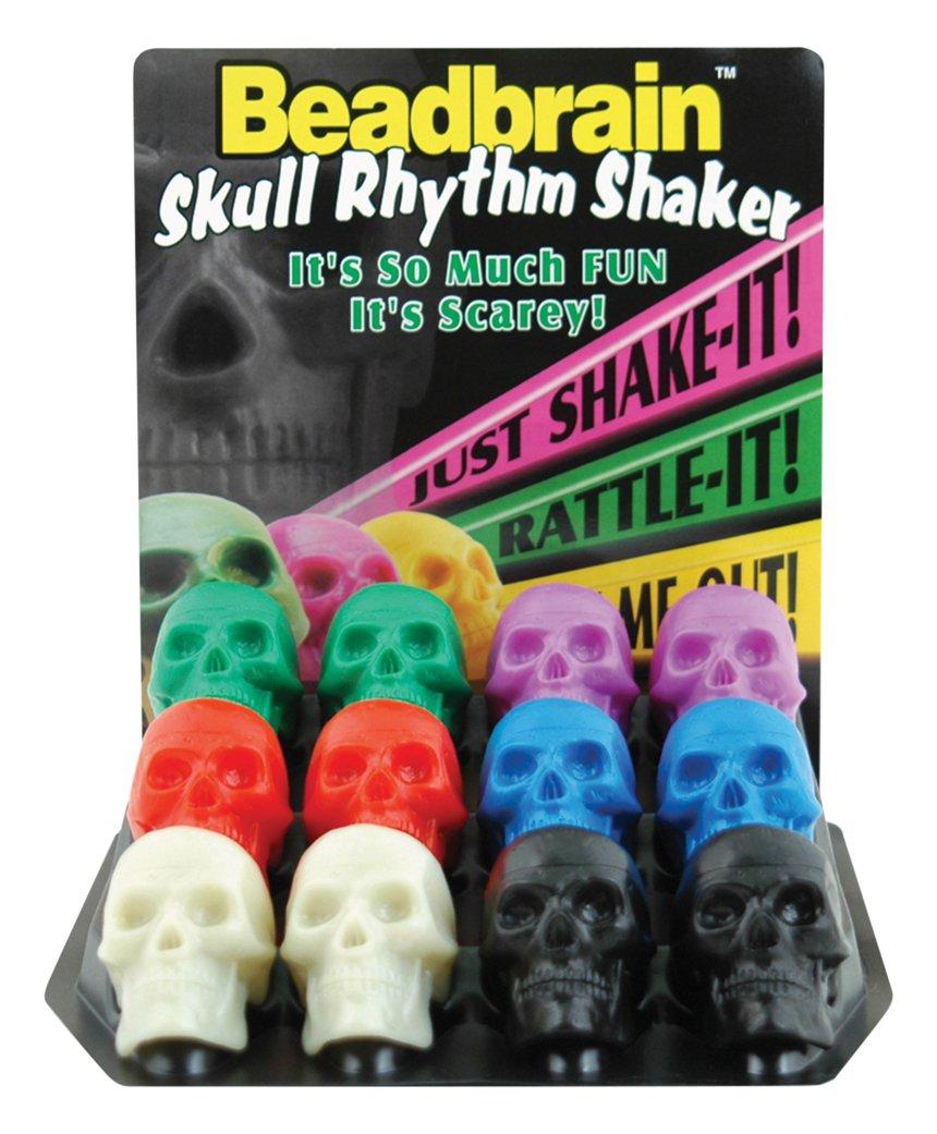 Beadbrain BB12G-BC Skull Rhythm Shaker KMC Music Inc