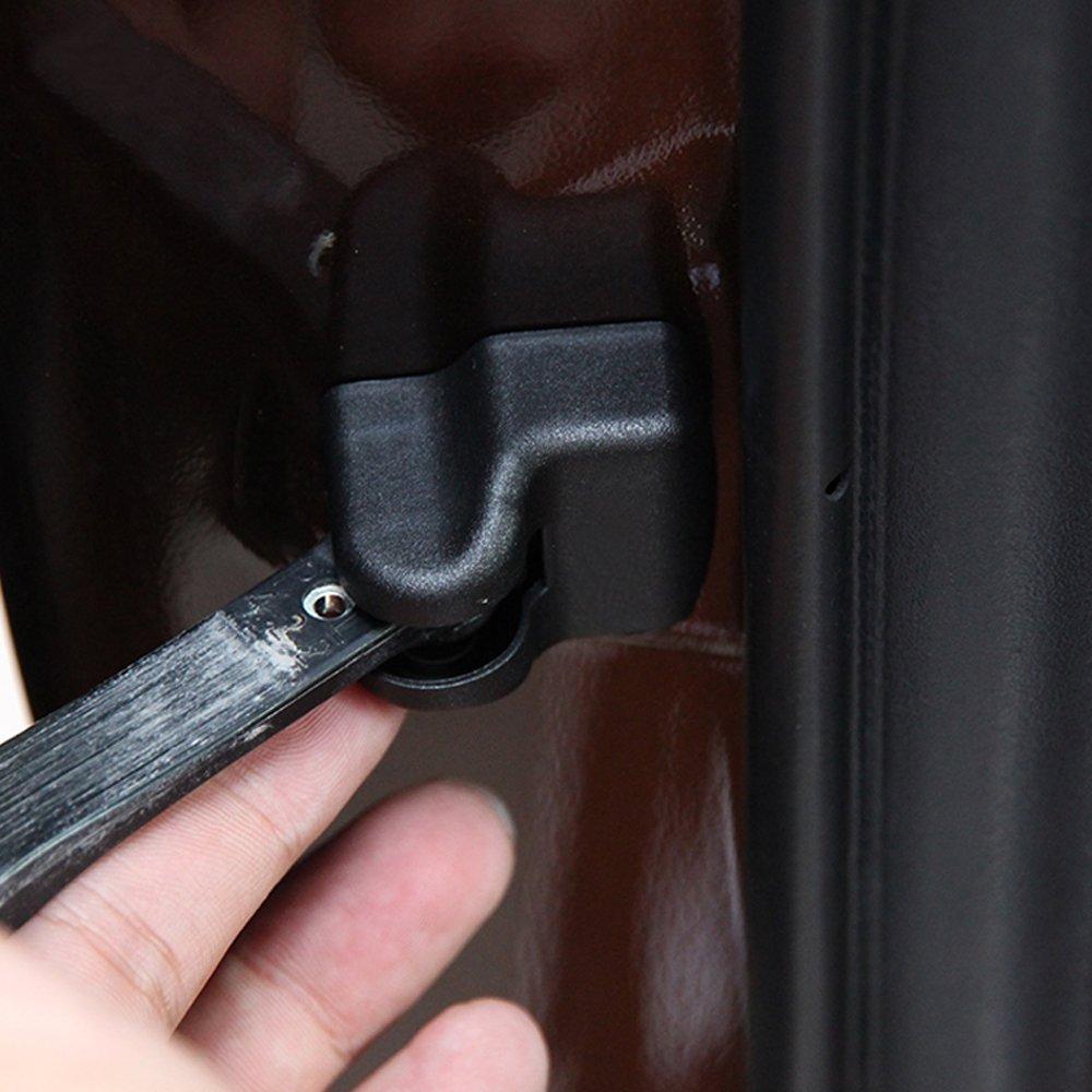 per Toyota Corolla Prius RAV4 Camry Reiz Venza Highlander Prado FJ150 Lexus GX IS GS ES OBCWSG Coperchio di Protezione del Tappo della portiera dellauto