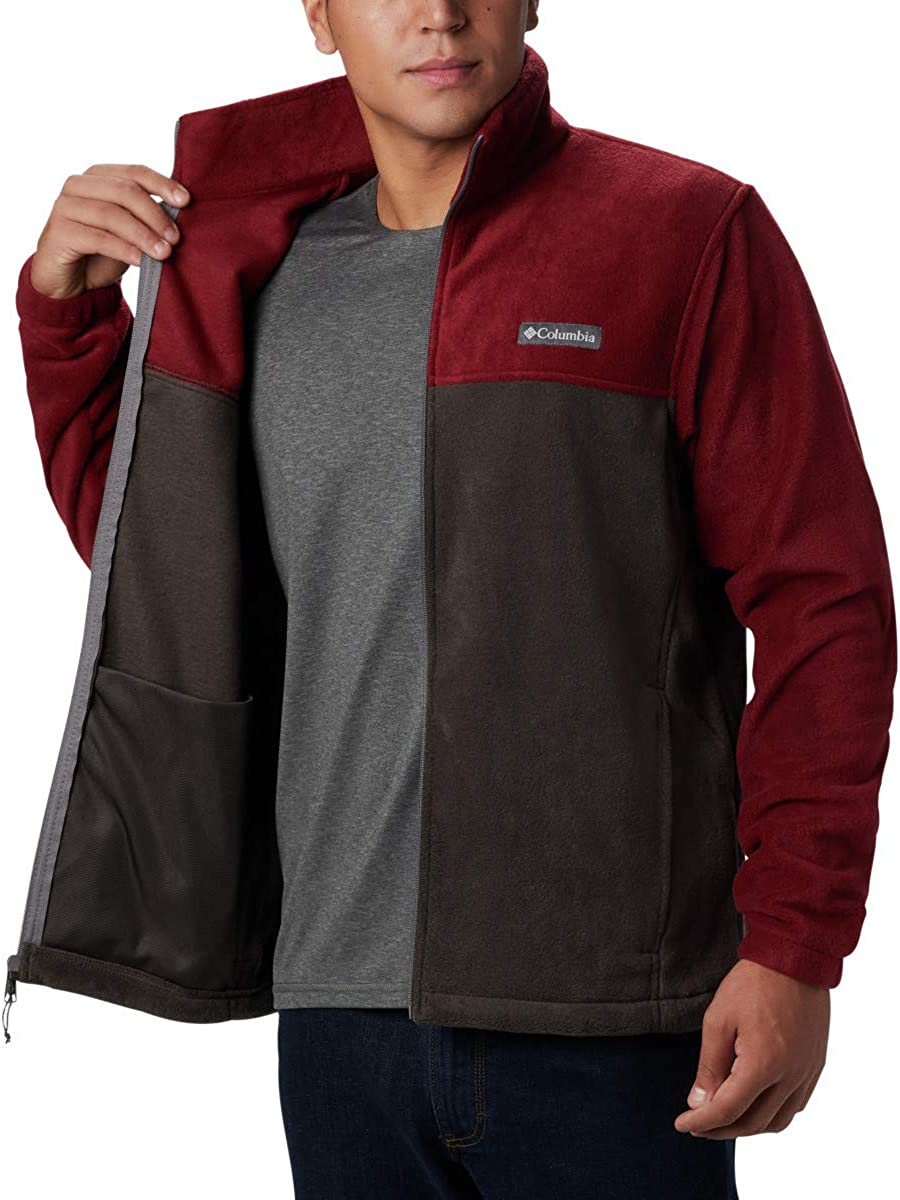 Soft Fleece with Classic Fit Columbia Mens Steens Mountain Full Zip 2.0