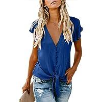 Boutique sale Blusa para Mujer Botón con Cuello