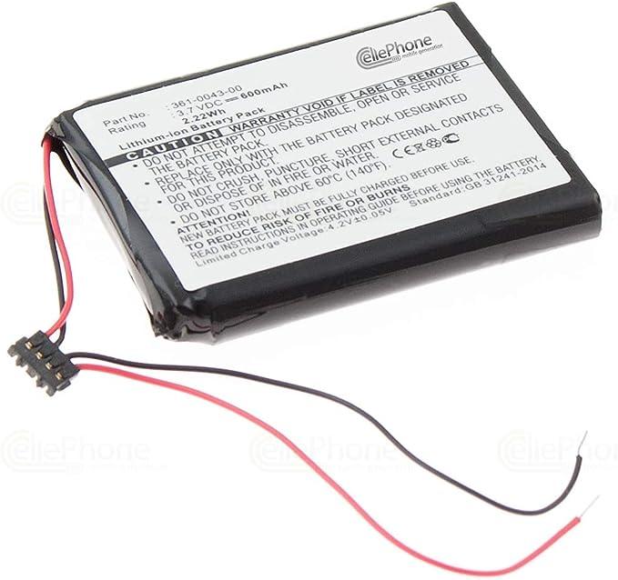 cellePhone batería Li-Ion para Garmin Edge 200 205 500 520: Amazon ...
