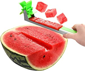 Free Watermelon Windmill Cutter Slicer- Stainless Steel…