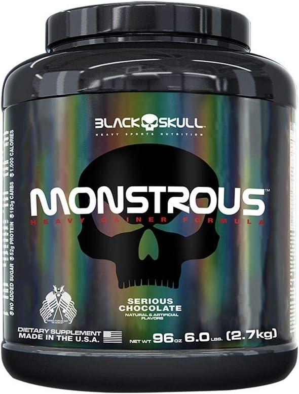 Monstrous Gainer 2,7 Kg - Black Skull por Black Skull