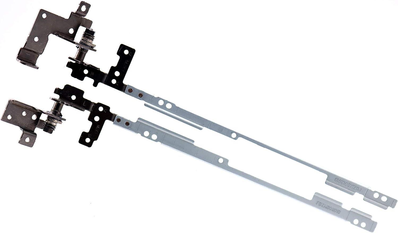 Deal4GO Left & Right LCD Hinge kit Screen Hinges Bracket for Dell Chromebook 11 3120 P22T FBZM8001010 FBZM8002010