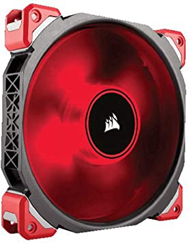 Corsair Pc Case Fan Red Led 140 Mm Computers Accessories
