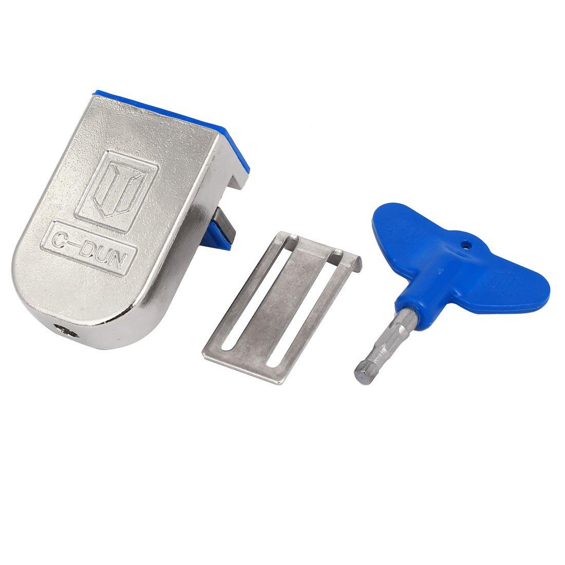 uxcell Sliding Window Lock Safety Anti-Slip Metal Stopper Wedge
