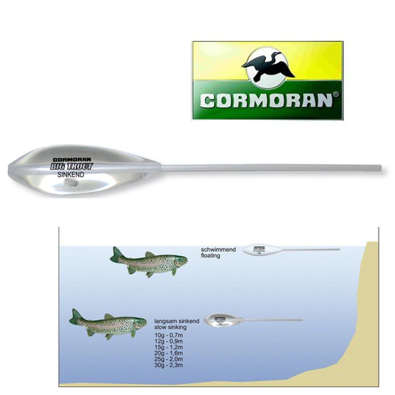 Cormoran Big Trout Sbirolino schnell sinkend 20g Forelle Trout