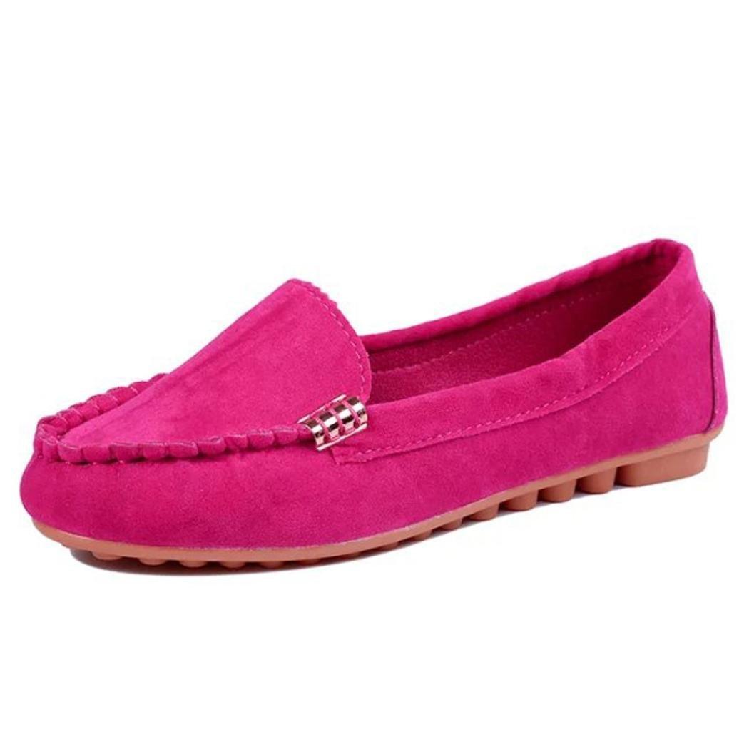 Mocasines para Mujer Respirable Ligero,ZARLLE Mocasines para Mujer CóModo Y Antideslizante Moda Loafers Casual Zapatillas Verano Zapatos del Barco Zapatos ...