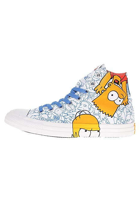Converse Chucks Hola Can Blanco 141391C AS Simpson multi Blancohttps://amzn.to/2V23piB