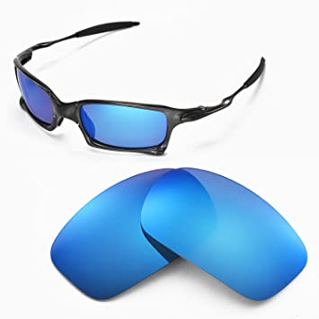 de324b95e34 Walleva Replacement Lenses for Oakley X Squared Sunglasses - Multiple  Options (Ice Blue Coated - Polarized)  Amazon.ca  Sports   Outdoors