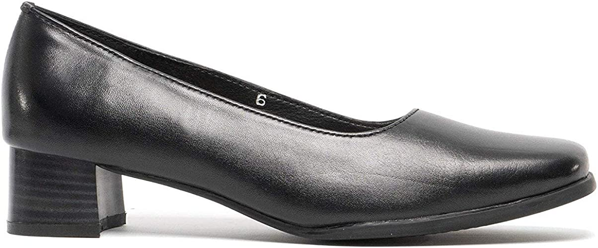 Mod Comfys TARA Ladies Low Block Heel