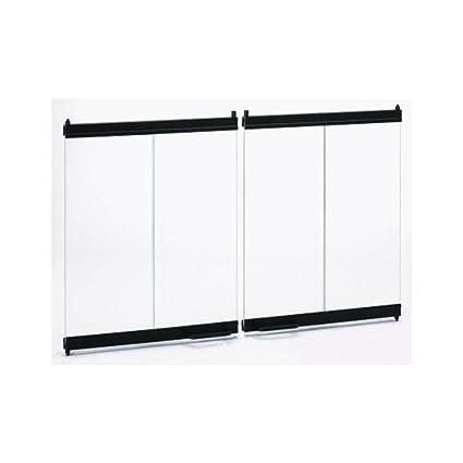 Amazon Temco Majestic Bi Fold Glass Fireplace Doors 42 X 23