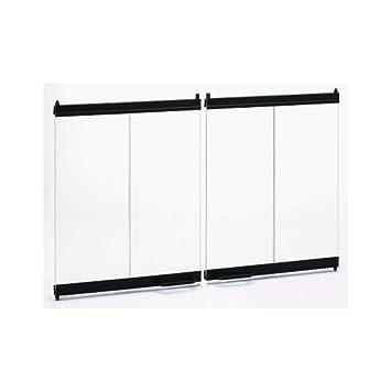 Amazon.com: Temco Majestic Bi-Fold Glass Fireplace Doors 42 x 23 ...