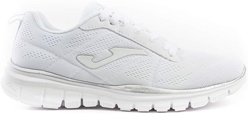 Joma C.Tempo Lady 902 White Deportiva Mujer, Plantilla Memory Foam, Blanco 38 EU: Amazon.es: Zapatos y complementos