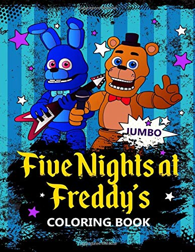 Amazon com: Five Nights at Freddy's JUMBO Coloring Book