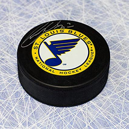 8cde18798 Garry Unger St. Louis Blues Autographed Hockey Puck at Amazon s ...