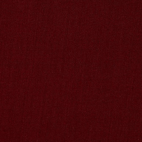 Ben Textiles 60in Poly Cotton Broadcloth Burgundy Fabric By The Yard ()