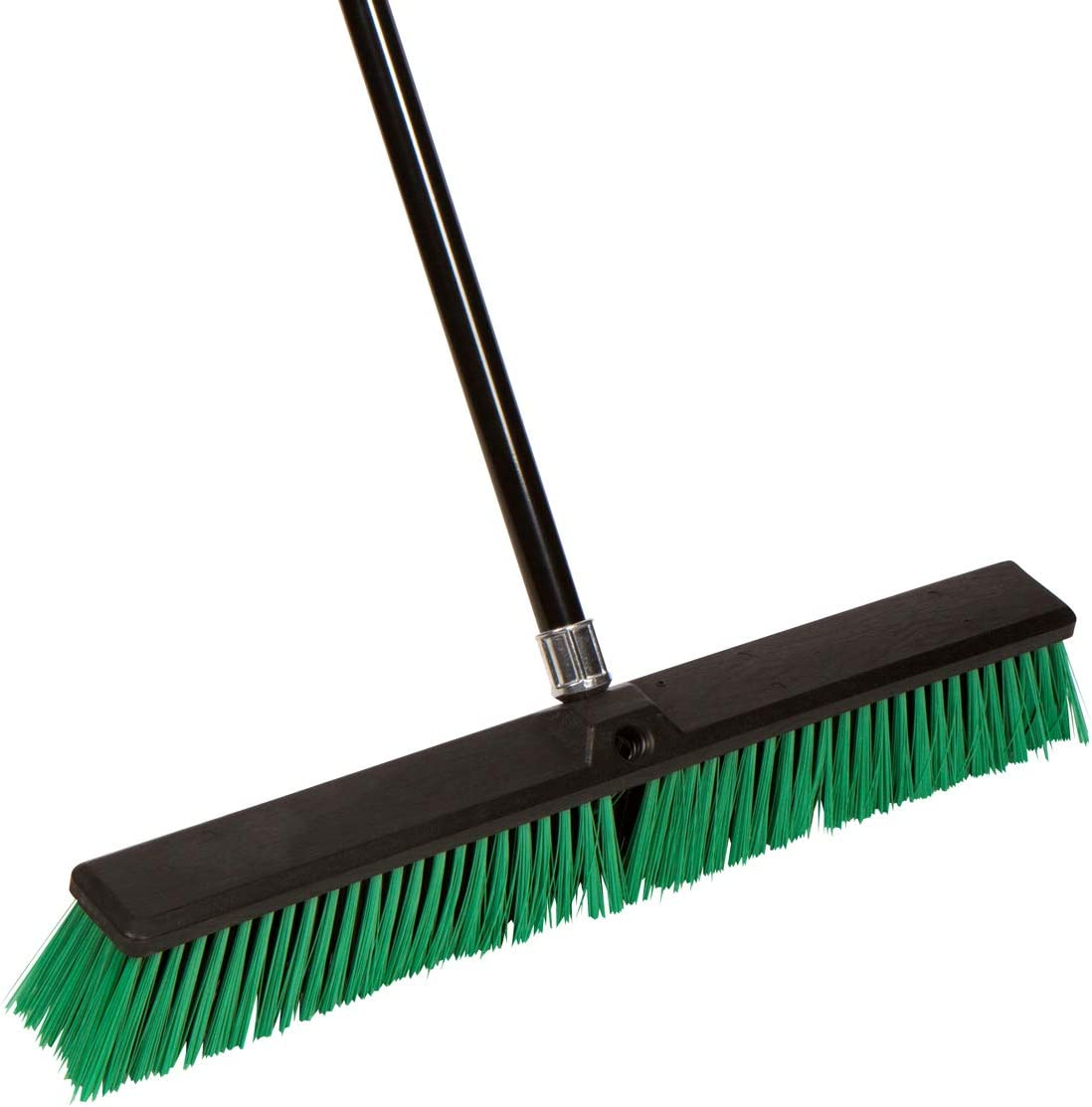 Tidy Tools Large 24'' Rough-Surface Push Broom with Alloy Handle: Home & Kitchen