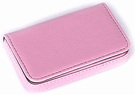 LUCKLYSTAR Estuche Tarjeta de Crédito Estuche Tarjeta Visa Funda Tarjetas Visita de cartón Archivador de Tarjetas de Visita Estuche Regalo para Mujeres Hombre Business Card Holder Wallet: Amazon.es: Hogar