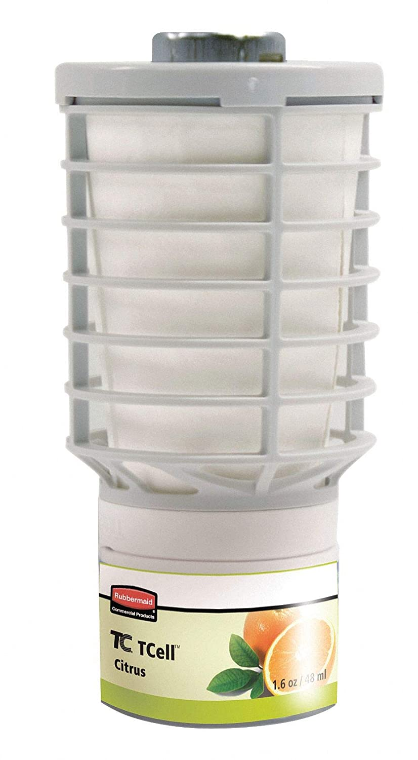 Rubbermaid Commercial FG402113 TCell Air Freshener Refill, Citrus