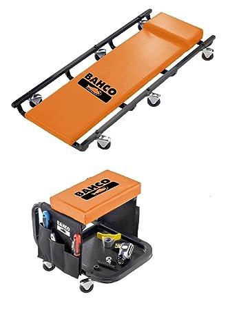 Bahco BLE304 - Camilla + Taburete De Taller: Amazon.es: Bricolaje y herramientas