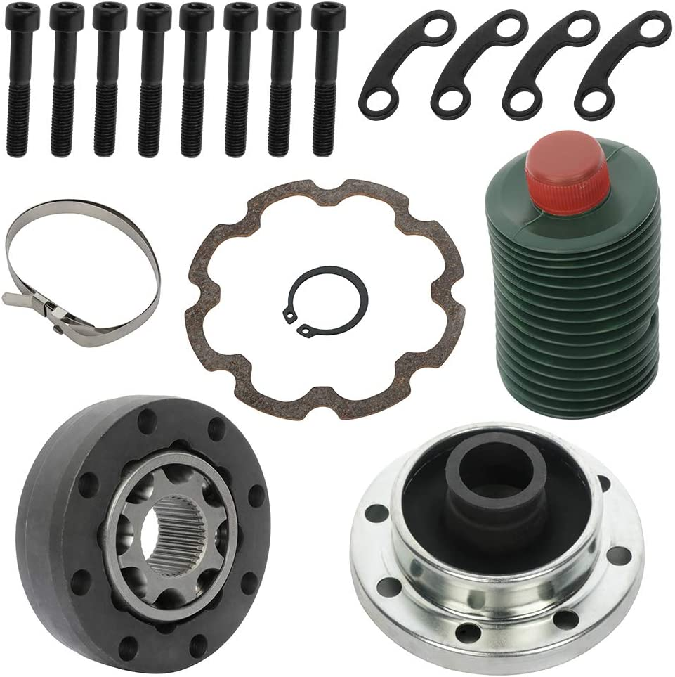 INEEDUP Drive Shaft CV Joint Repair Kit compatible with 2007-2016 Jeep JK Wrangler
