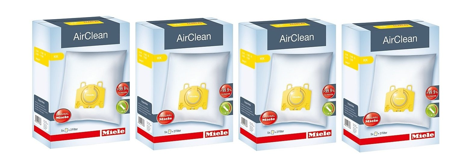Miele Type K IntensiveClean Plus FilterBags - S142-S195- 4 Pack