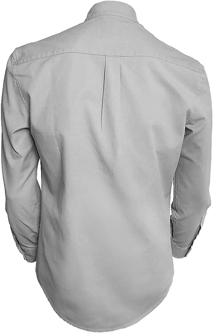 Traditional Irish Grandfather Collarless Shirts for Men