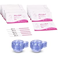 Ovulation Test Strips, 50 LH Ovulation Predictor Kit with Free 50 Collection Cups, Accurately Track Ovulation Test, High Sensitivity Result for Women Home Testing