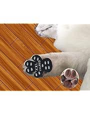 Valfrid Hundepfotenschutz, strapazierfähig, Rutschfest, 24 Stück, Selbstklebende Einweg-Hundeschuhe, Stiefelsocken