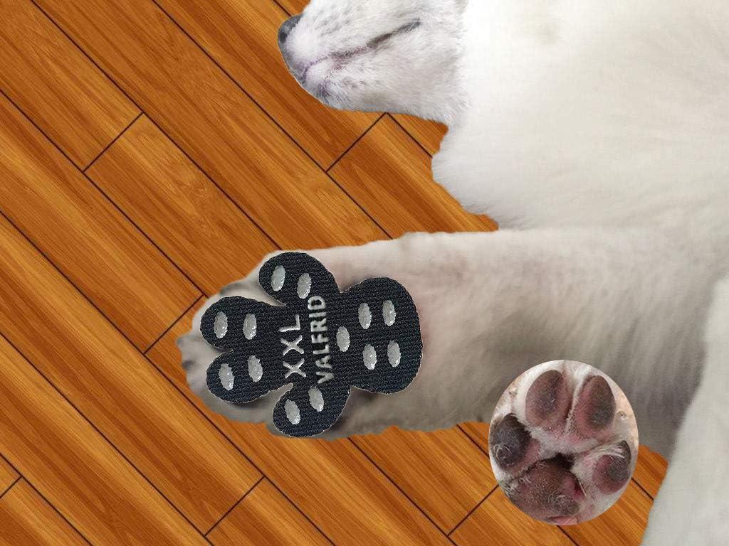 Amazon Com Valfrid Dog Paw Protector Rugged Anti Slip 24 Pieces