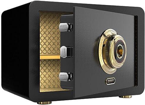 ACZZ Caja de seguridad digital electrónica Caja fuerte, 35X25X25Cm ...