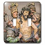 Danita Delimont - Religion - Portugal, Guimaraes, detail of stations of the cross - Light Switch Covers - double toggle switch (lsp_227813_2)