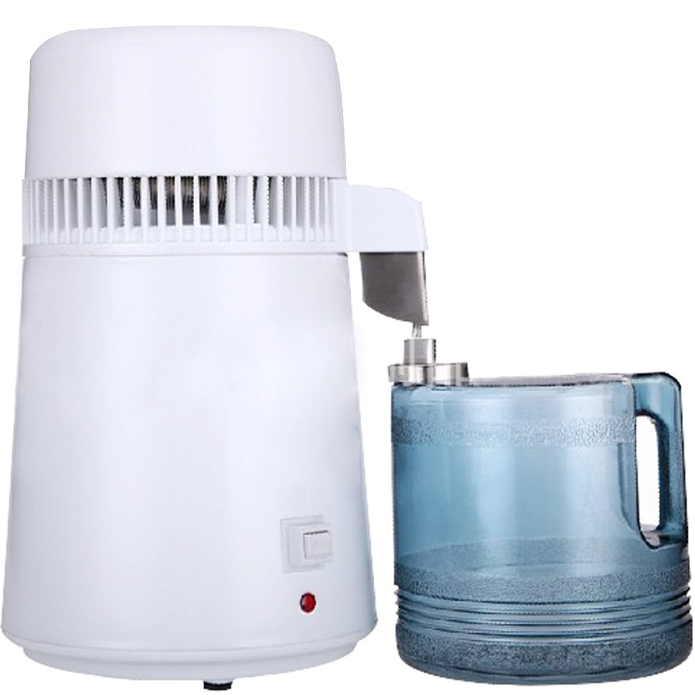 Creation Core 4L Pure Water Distiller 750W All Stainless Steel Internal Purifier Filter Strainer