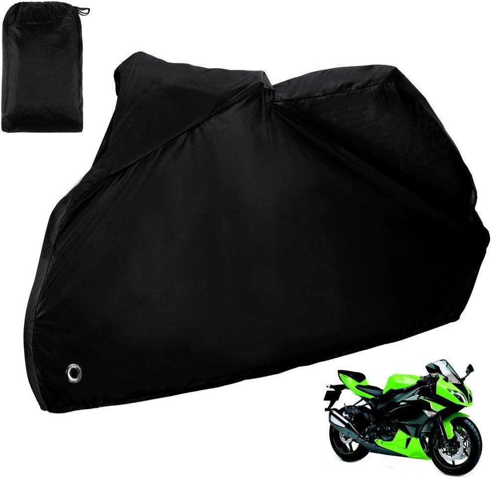 Zacro Funda para Moto/Cubierta de la Moto 190T Impermeable