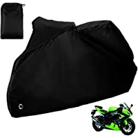 Zacro Funda para Moto/Cubierta de la Moto 190T