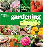 Gardening Made Simple, Better Homes and Gardens, 0470638540