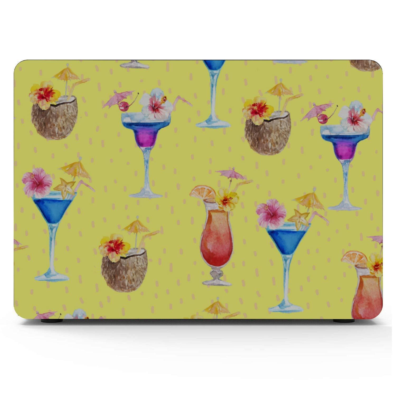 MacBook Pro Shell Case Summer Sweet Cool Watermelon Juice Plastic Hard Shell Compatible Mac Air 11 Pro 13 15 MacBook Pro Hard Cover Protection for MacBook 2016-2019 Version