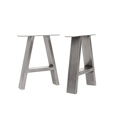 2 x Industrial A-Frame Table Legs - All Sizes and Colours (Bench ...