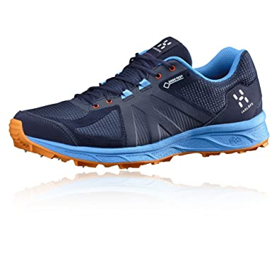 Haglofs Gram Spike II Gore-TEX Trail Running Shoes - 9 - Navy Blue