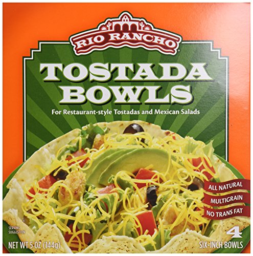 Rio Rancho Tostada Bowls, 4-Count