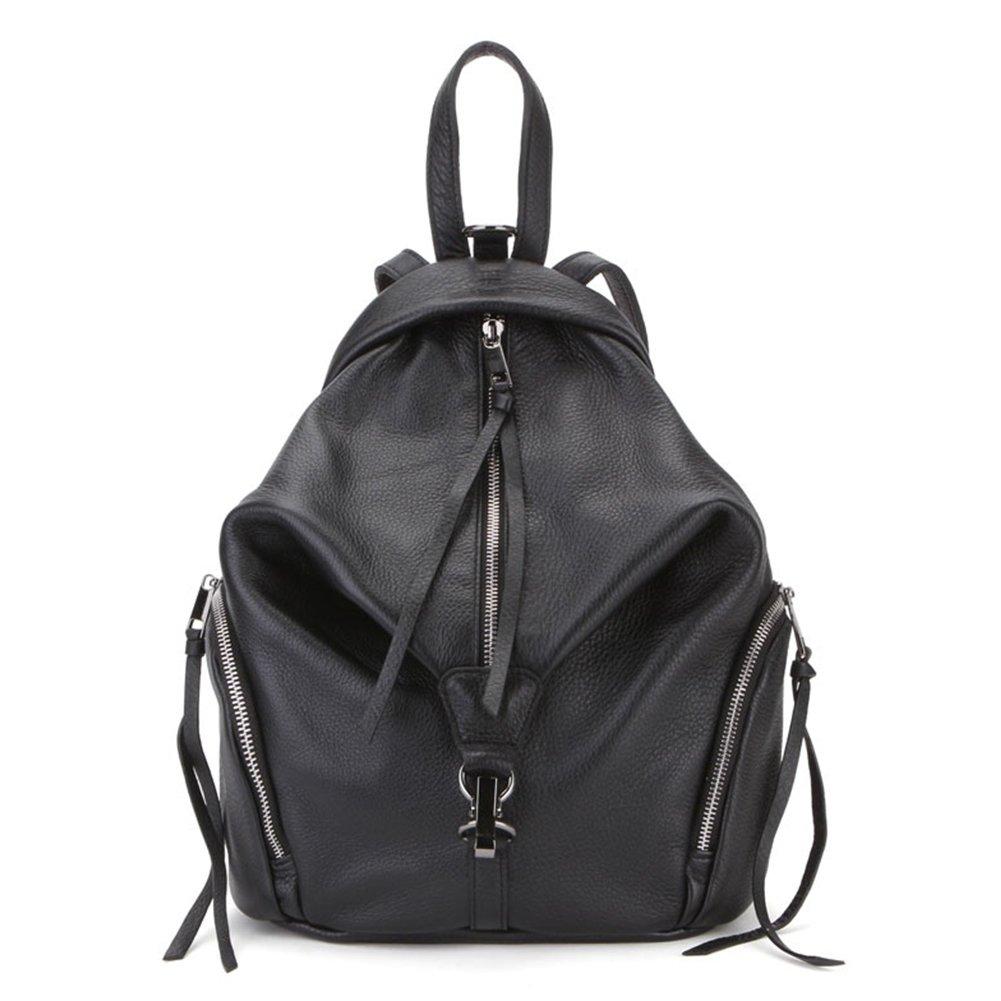 VF P902 Leather Backpack Black