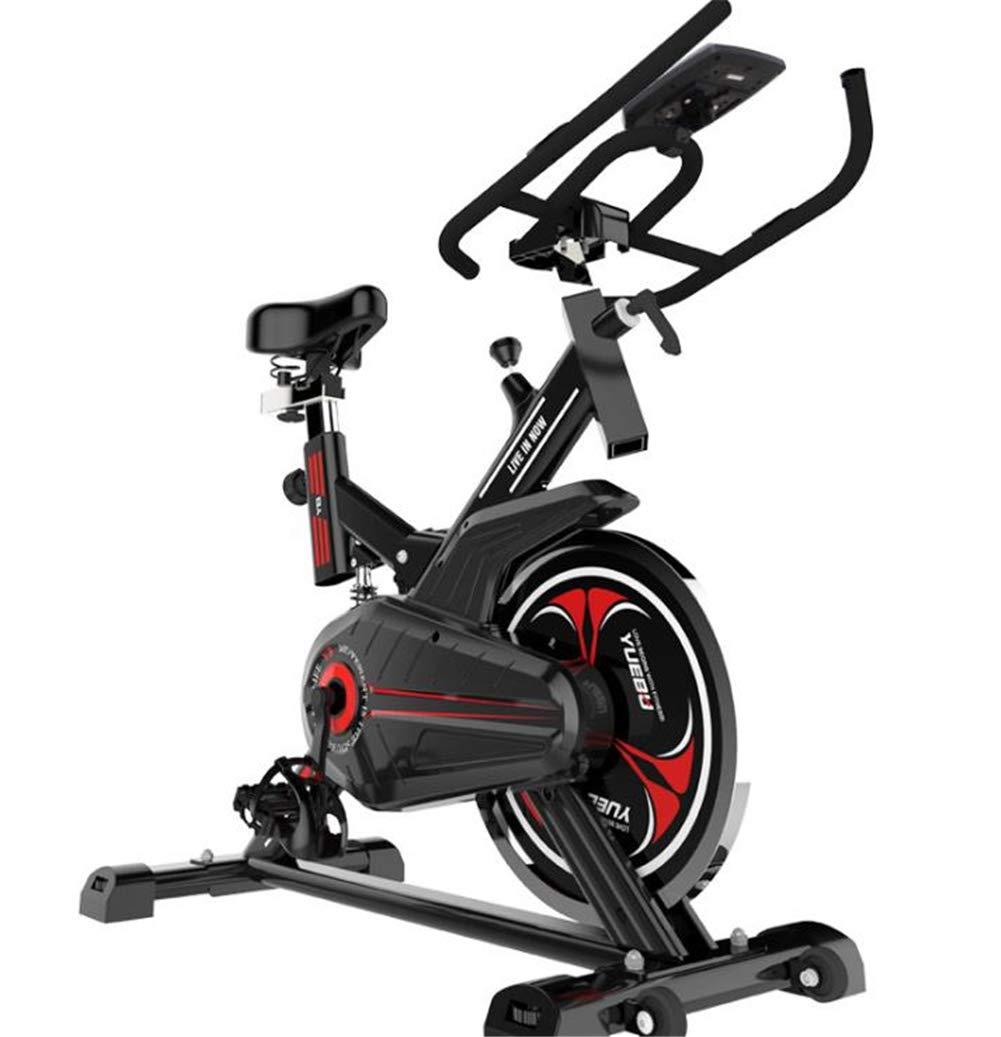 Lcyy-Bike Indoor Cycling Fahrradtrainer Magnet Widerstand 8 Kg Schwungrad Cardio Workout Mit Multifunktionalen Monitor Verstellbaren Lenker & Sitzhöhe Für Männer Und Frauen
