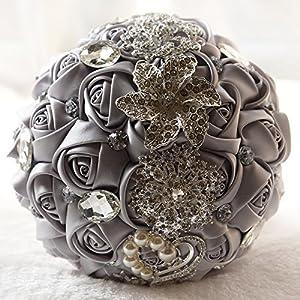 Bridal Bridesmaid Wedding Bouquet 98