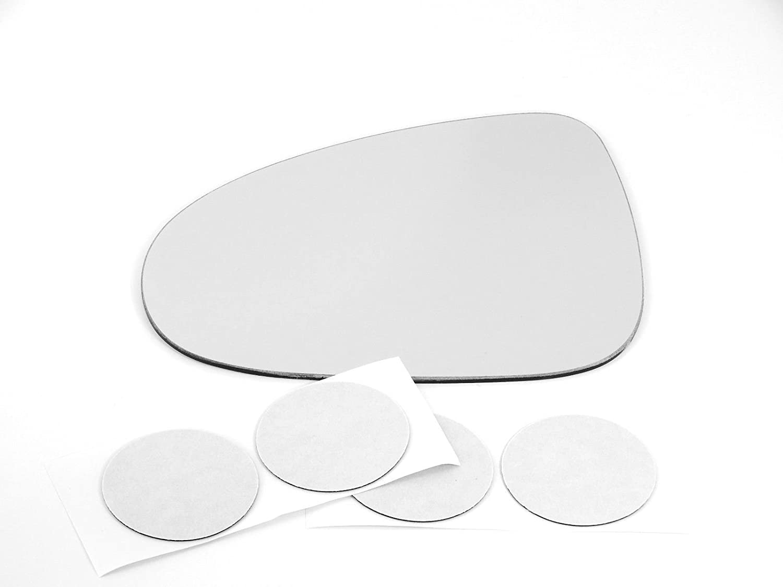 Fits 11-17 Vw Touareg Left Driver Side Mirror Glass Lens    USA