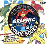 Comic Book Heroes : Fantastic Four, Spider-man 3, Watchmen, Iron Man, the Dark Knight, Batman| Music From the Movies Graphic Novels & Comic Books | Global Stage Orchestra Performs ~ 3 Cd Box Set [Import] Compact Disc Box Set