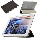 AVIDET Ultra Slim Teclast X80 Pro Hülle Case Superleicht Ständer Smart Shell Cover Schutzhülle Etui Tasche für Teclast X80 Pro Tablet-PC (Schwarz)